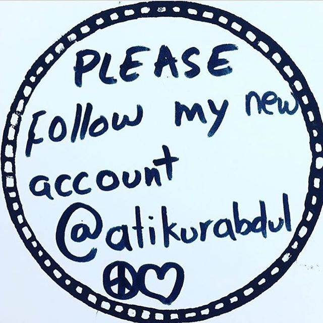 Please follow @atikurabdul I am going to delete this page. I will be posting my art on the new page which is @atikurabdul ✌🏻♥️