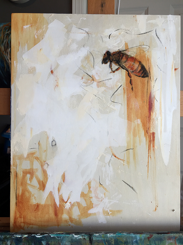 honeybee/acrylicpaintingDIANEACKERS.JPEG