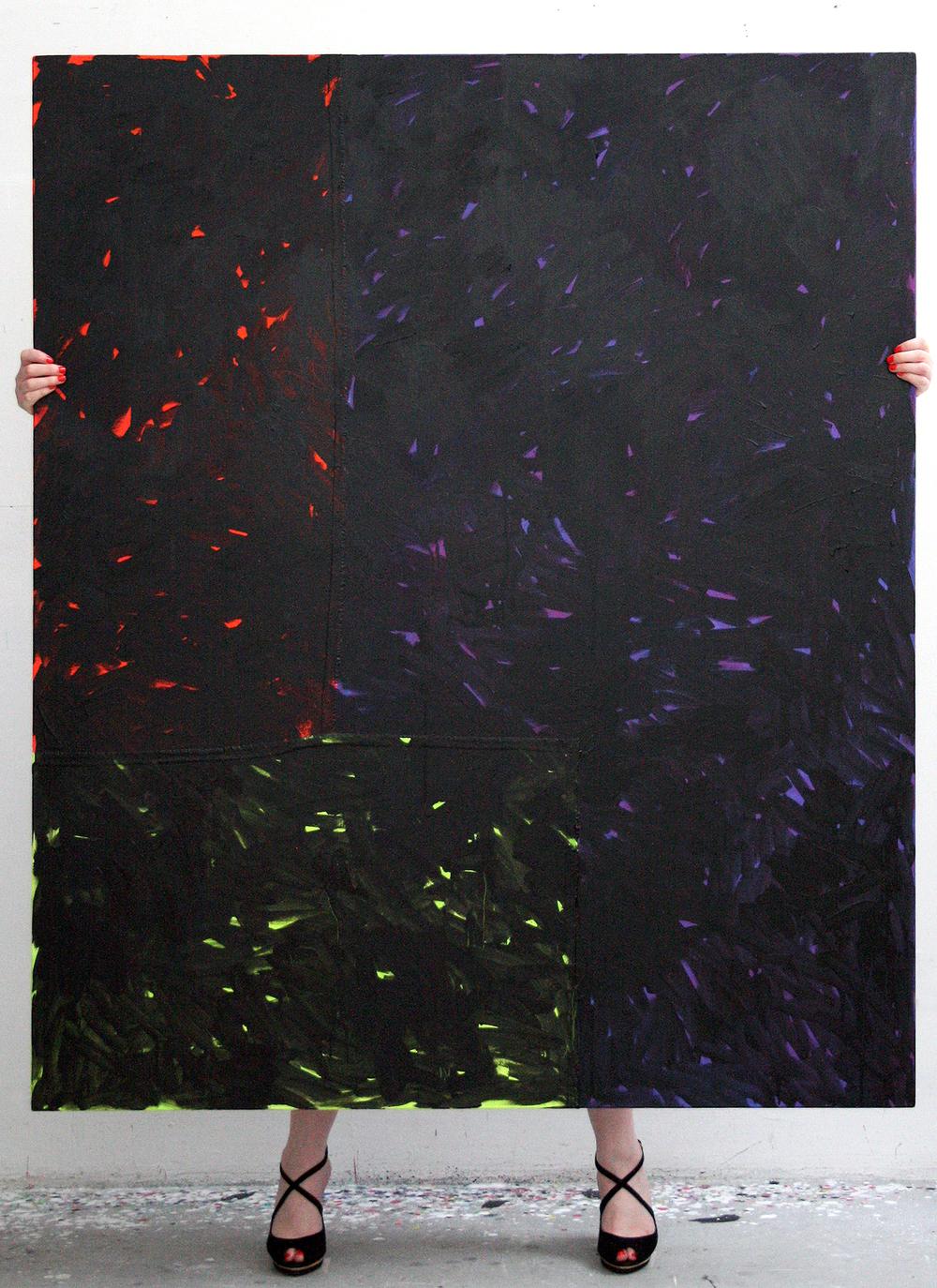 'Acid Blush' exhibit invite, Christian Larsen Gallery, Stockholm, Sweden, 2013