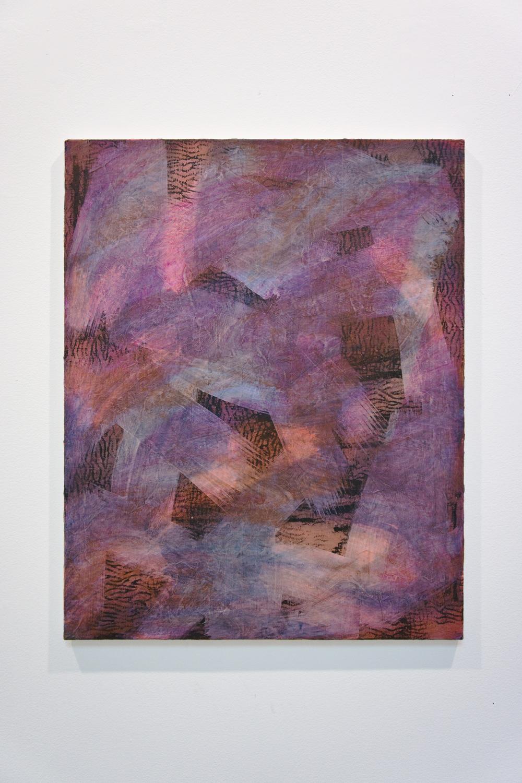 Puce Moment, acrylic on canvas, 75x60cm, 2012