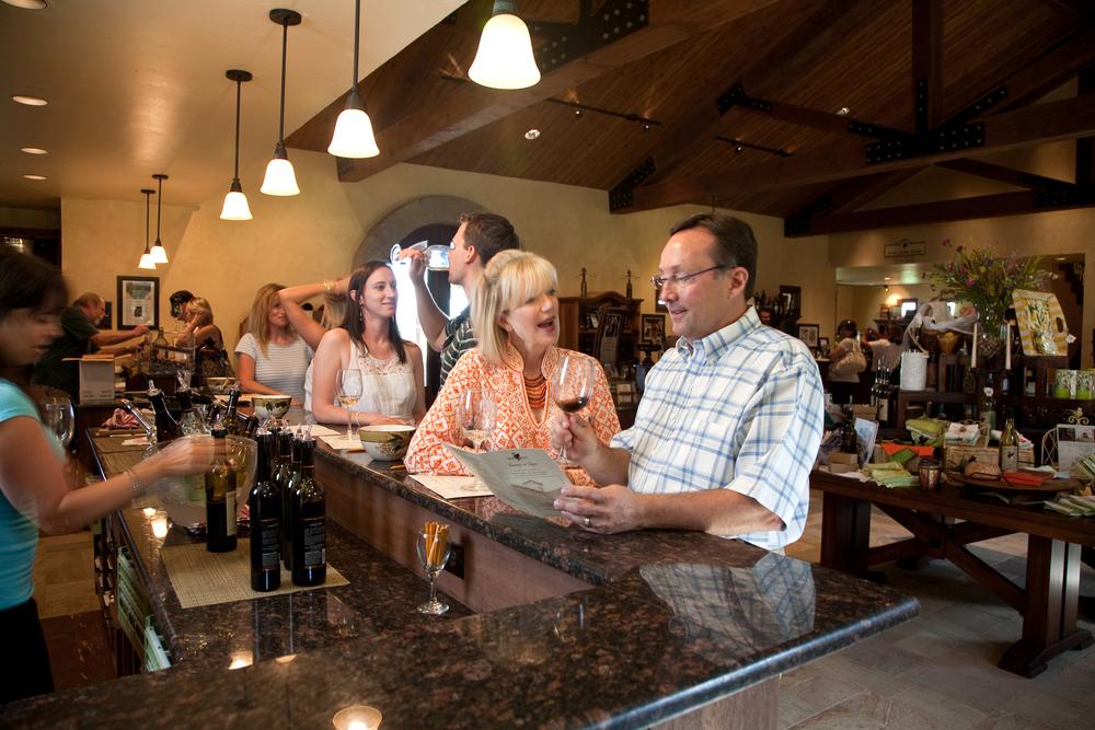 Tasting Room at Grape Creek Vineyards Credit Steve Rawls.jpg