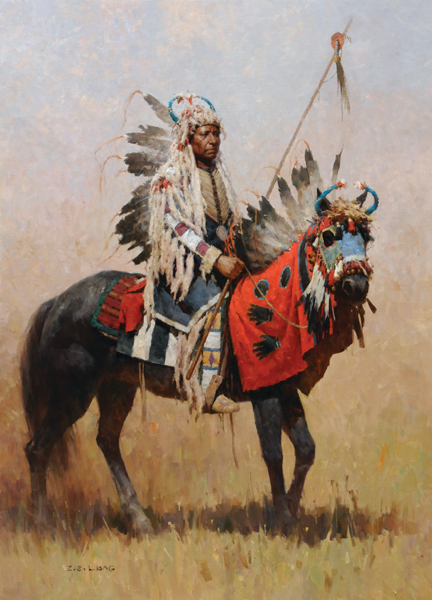 Liang_ZS_AdvocateForPeace,ChiefMoses_oil_48x34.jpg