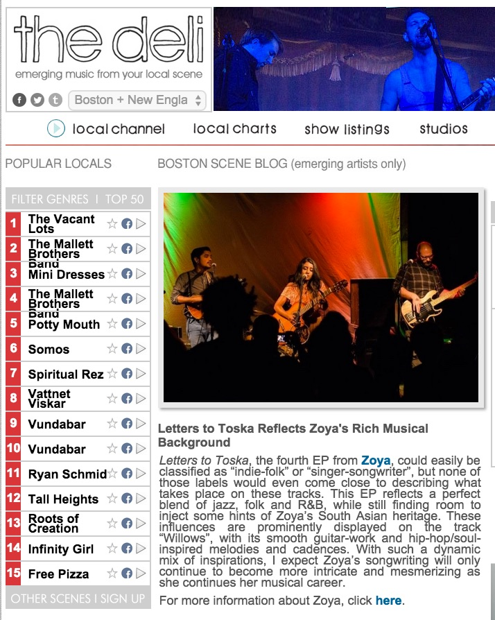 http://newengland.thedelimagazine.com/20762/letters-toska-reflects-zoyas-rich-musical-background