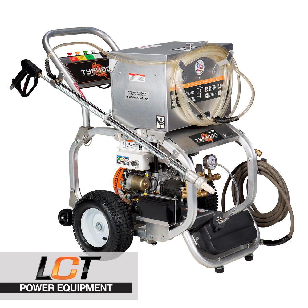 Typhoon Blaster 3000 Electric Sand Blaster Pressure Washer LCT