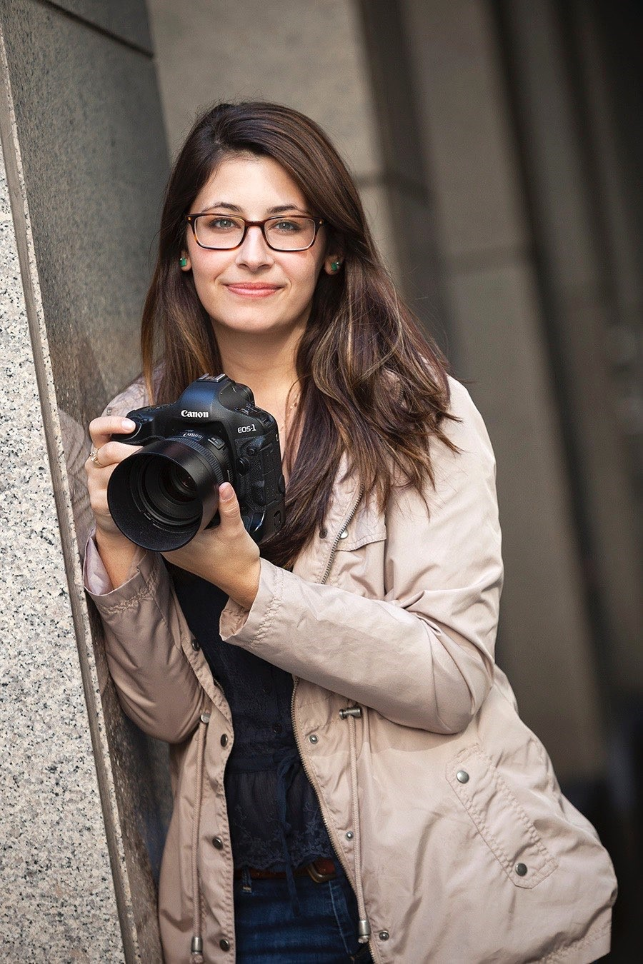 Kate Kaplan looks as good in front of a camera as she does behind it!