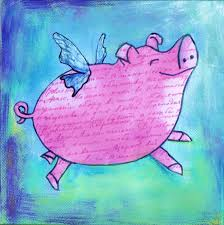 PIGs are flying!!!
