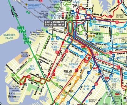 Plan de Bus de Brooklyn