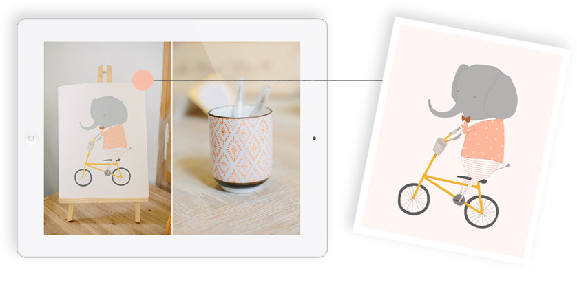 Margaux Rides Art Print | featured on 100 Layer Cakelet SEE THE FEATURE | BUY THE PRINT