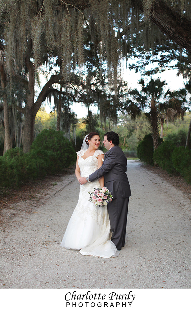 This is a photo from a wedding that I photographed at Koreshan State Park in Estero, Florida.