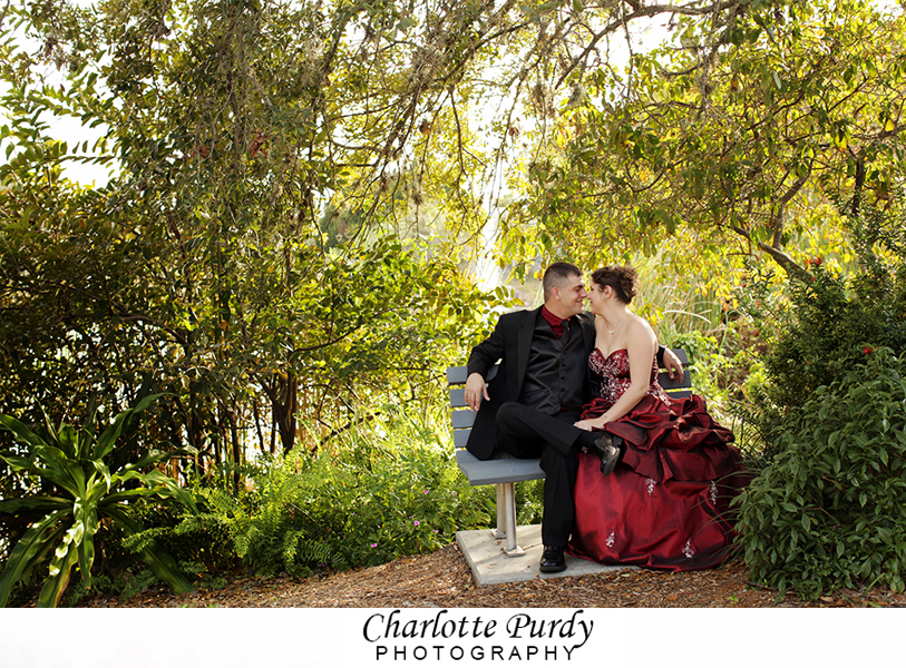 This is a photo from an Engagement Session I photographed in Lakes Park in Fort Myers, Florida.