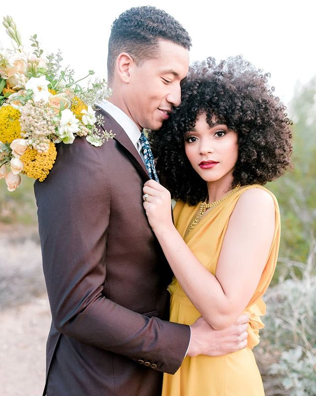 This fun elopement inspiration shoot just graced the @stylemepretty front page today!!! Love all the color and Southwest vibes. Thanks to @adaytocherishweddings @elchorroweddings for such a great collaboration. 📷: @marisabellephotography  Venue: @elchorroweddings  Planner: @adaytocherishweddings  Florals: @carteblanchedesign  Dress+Stylist: @ristyle_consulting  Cake: @ruzecakehouse  HMUA: @mua_nat  Paper: @margoandbees  Rentals: @dang.finerentals  Linens: @latavolalinen  Models: @mykalaballard @dame_dash12  Glassware: @theconfettistudio  @createdbymasha