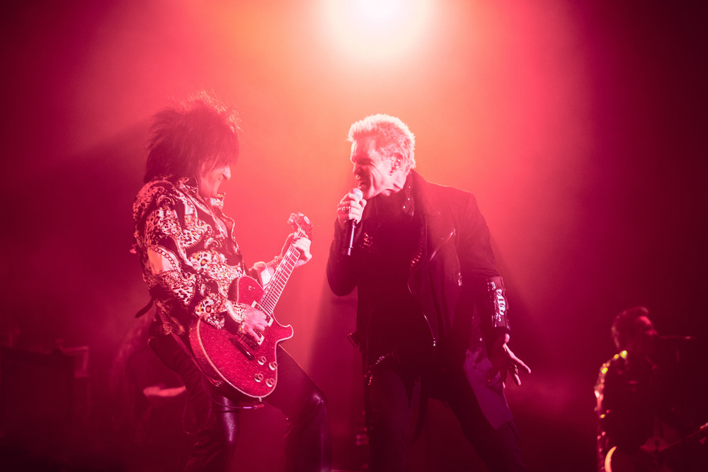 Billy Idol & Steve Steven
