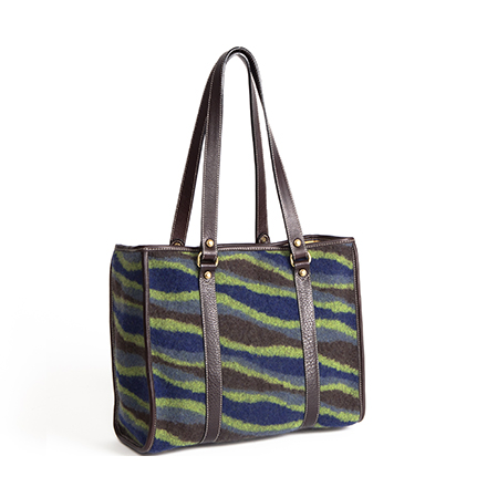 Green Streamers Tote Bag