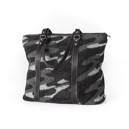 Black Stroke Zip Bag - SOLD OUT