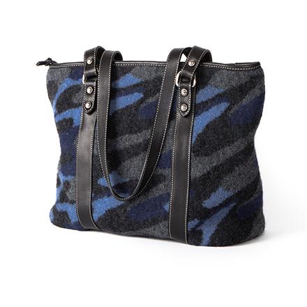 Blue Stroke Zip Bag - SOLD OUT
