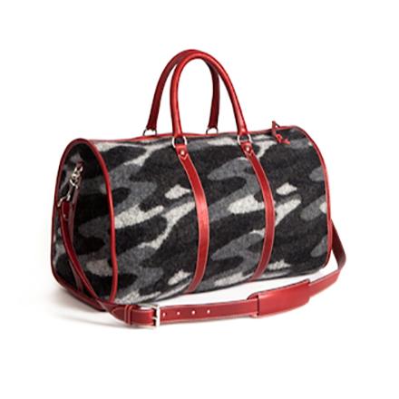 Black Stroke Weekender Bag - SOLD OUT - More Colors