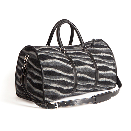 Black Streamers Weekender Bag - More Colors