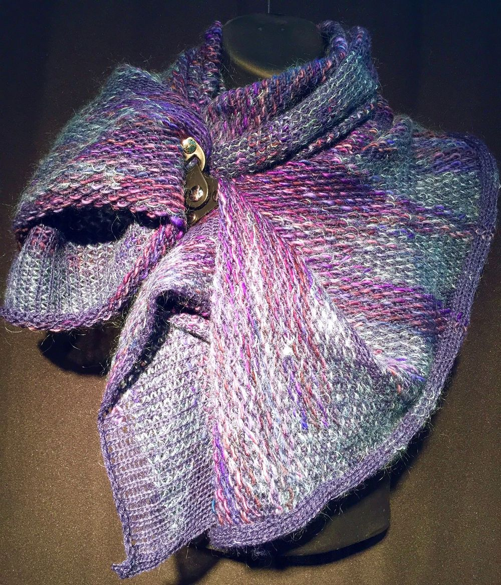 Purple Nomeolvides Alpaca Scarf Wrap.jpg