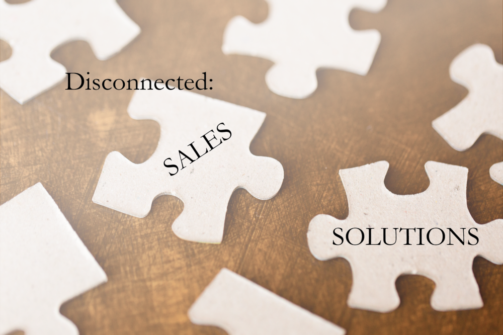 disconnected sales solutions