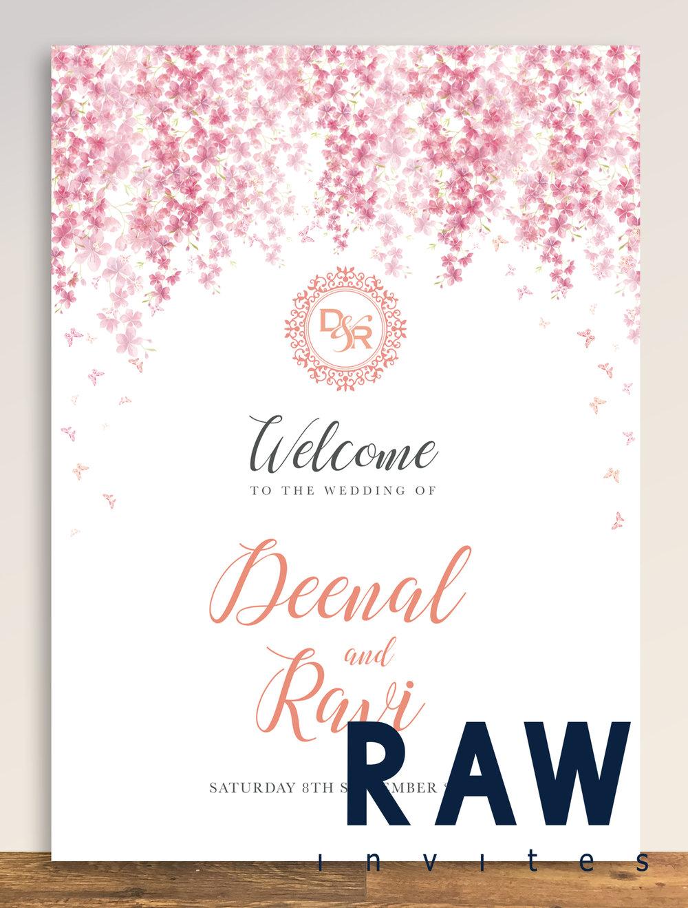Deenal & Ravi (Blossom theme)