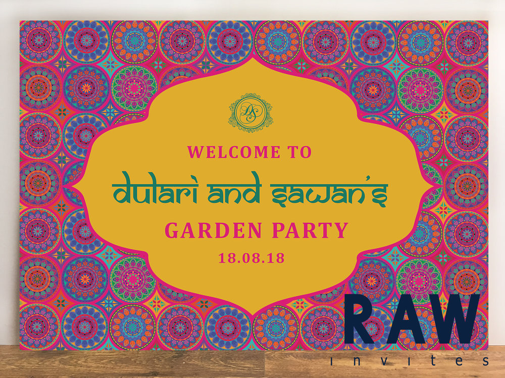 Dulari & Sawan (Indian Garden Party)