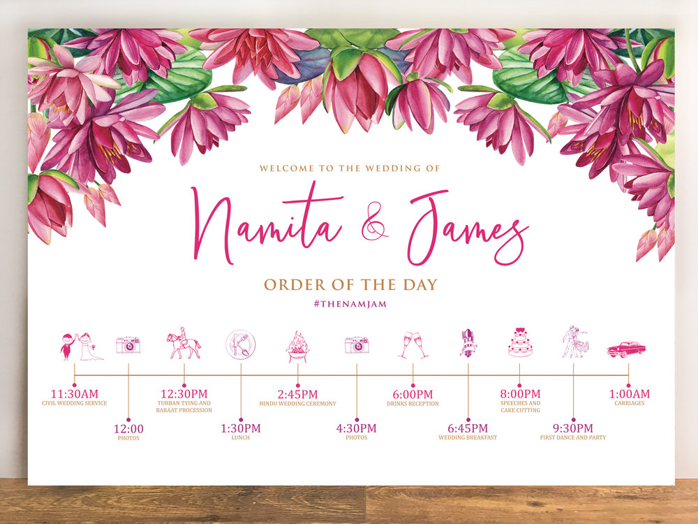 Namita & James (Lotus Love)