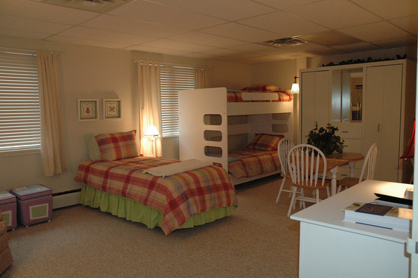 Healing House bedroom