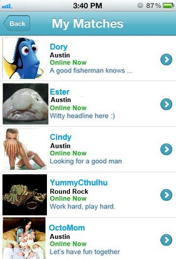 Plenty of fish headline