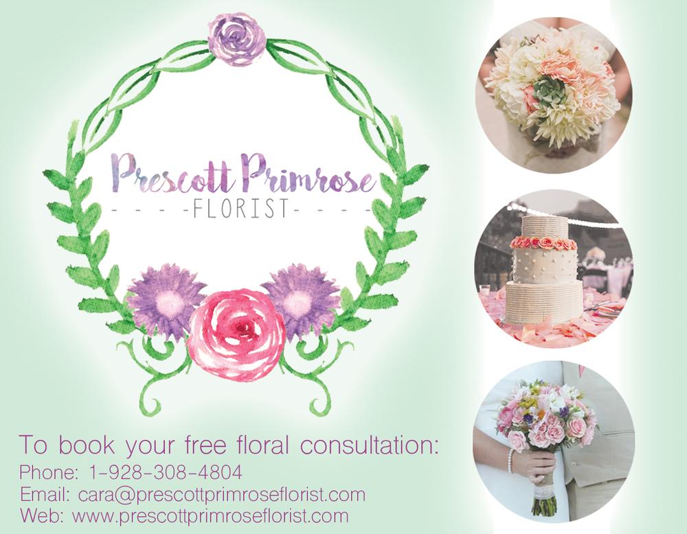Prescott Primrose Florist by Jinnifer Douglass