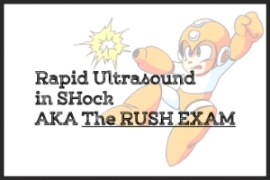 PAPER: It may be useful to read over how to perform the RUSH exam, your tool for the undifferentiated crashing patient.