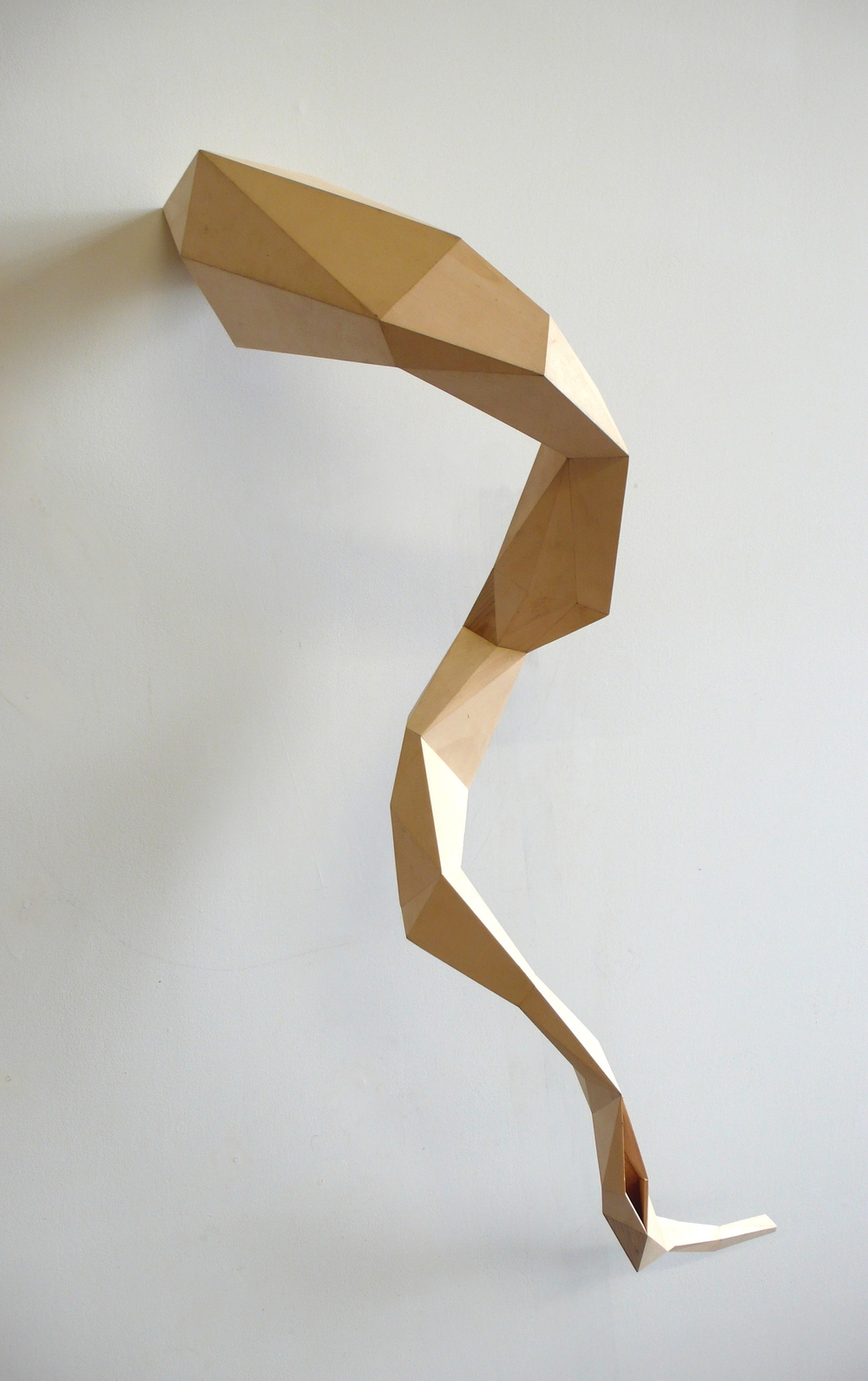 plychord sculpture, poplar