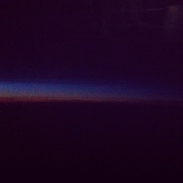 Twilight, NRT—NWK (Taken with  Instagram )
