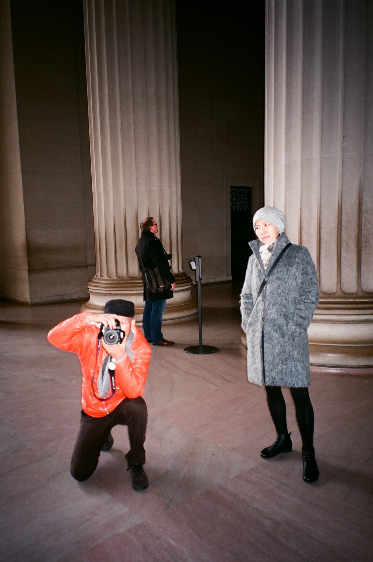 Photo shoot at Lincoln memorial