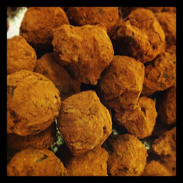 Chocolate Truffles (Taken with  Instagram )
