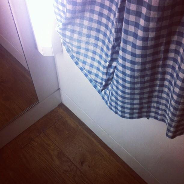 Dressing room (Taken with  Instagram )
