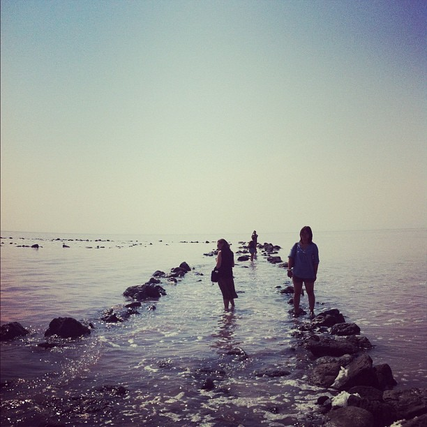 Spiral Jetty (Taken with  Instagram  at Robert Smithson's Spiral Jetty)