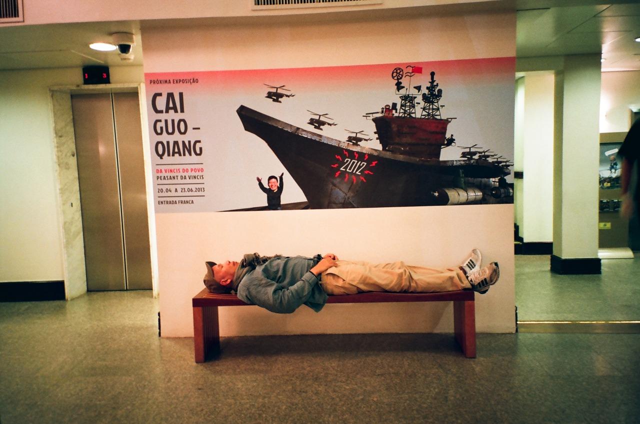 Cai Guo-Qiang homeless in São Paulo