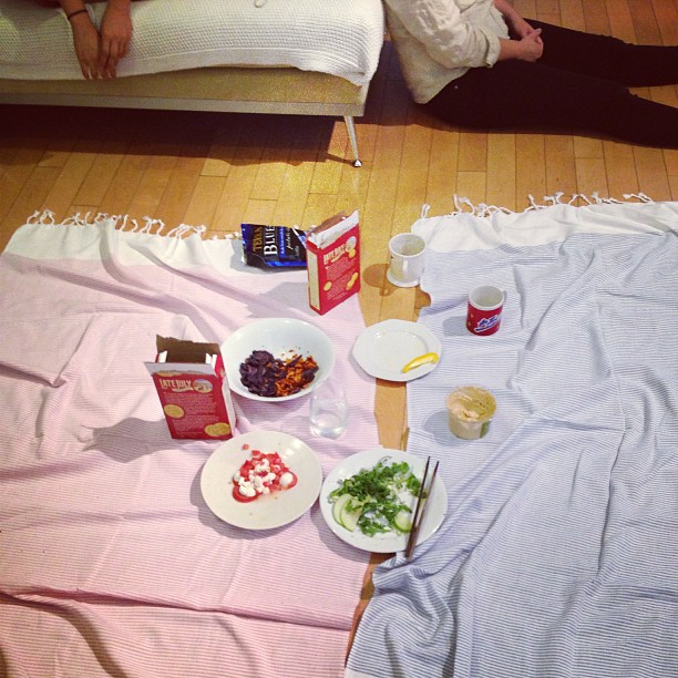 An Indoor Picnic