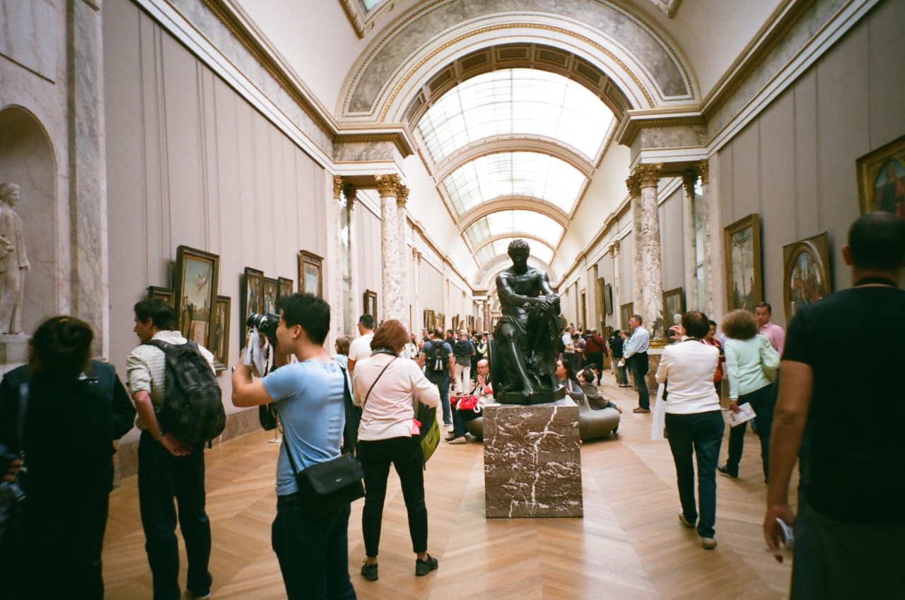 Museums are an Awfully Crowded Place to Be