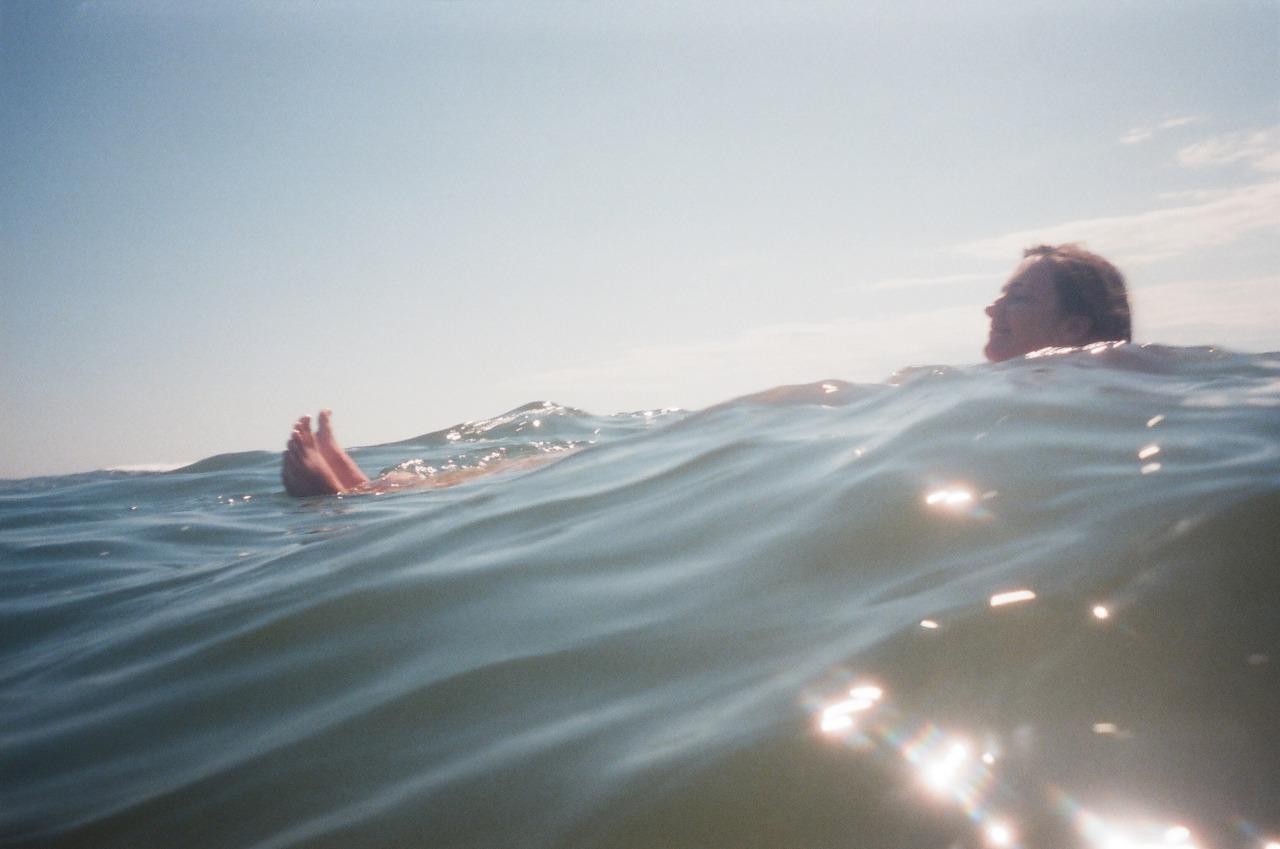 Sarah floating