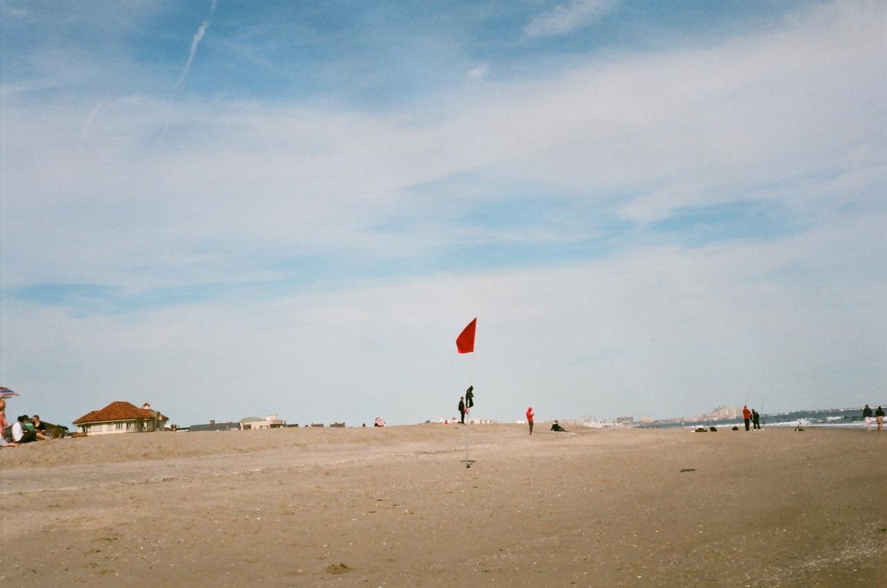 Red Flag   Rockaway Beach