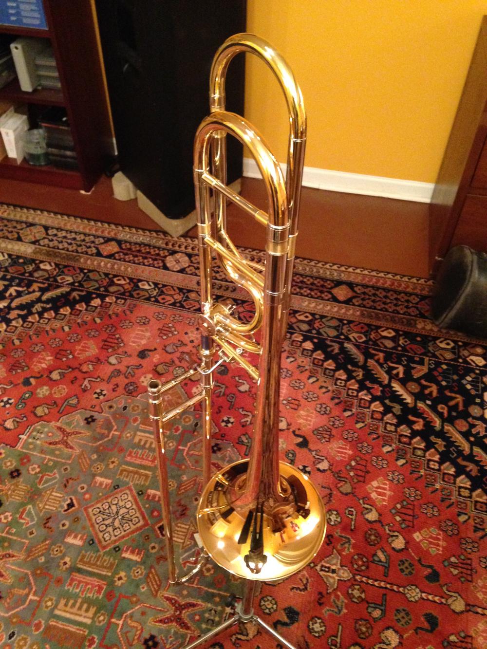 My new Getzen Custom Reserve 4147 IB Tenor Trombone.