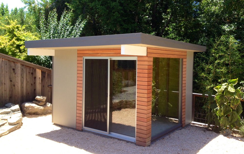 Mid century modern spaces and sheds for Modern sheds for sale