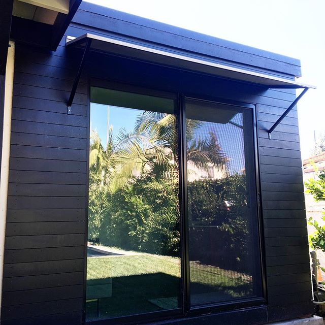 Worst lighting ever, but I love this sexy little black unit we built in LA