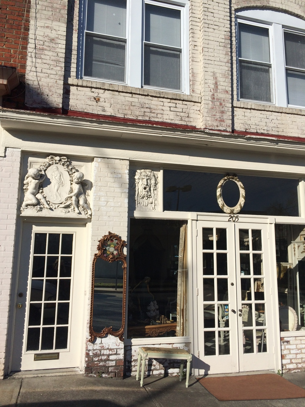 A beautiful old storefront in High Point