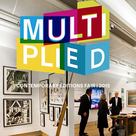 MULTIPLIED - CONTEMPORARY EDITIONS FAIR | 2015  Contemporary Art in Editions Fair  Christies South Kensington  London, 16-18 October 2015   www.multipliedartfair.com