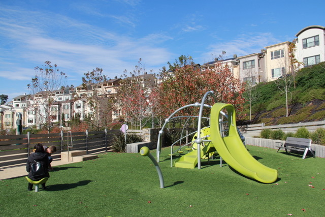 new children's playground at Summit 800 Park