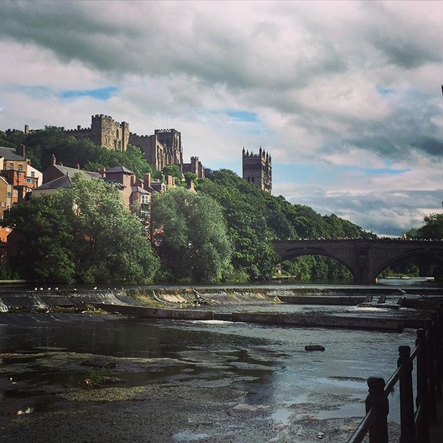 #clouds #summer #beauty #sky #cloudporn #beautiful #travel #vacation #visiting #instatravel #instago #trip #tourism #instagood #instapassport #travelgram #europe #uk #england #durham