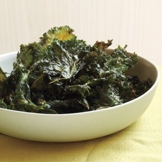 Chili Sauce Kale Chips