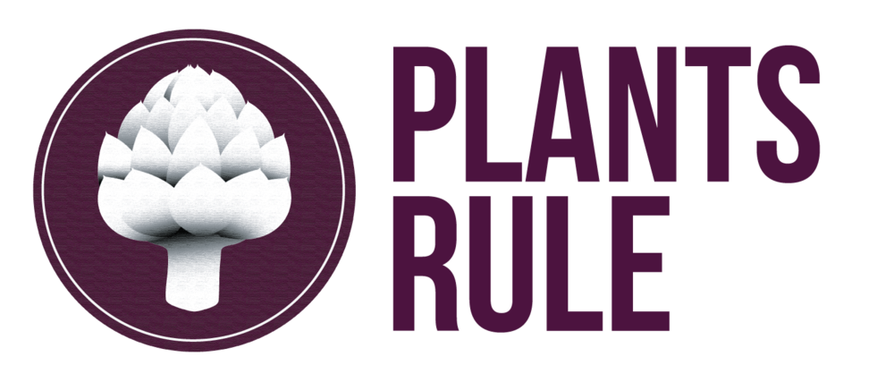 Plants-Rule Logo with Title